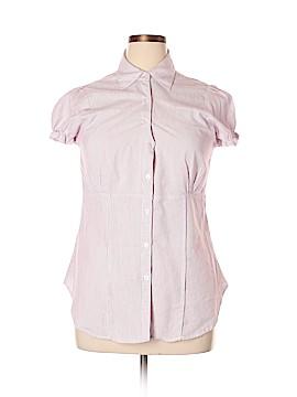 Passport Short Sleeve Button-Down Shirt Size XL