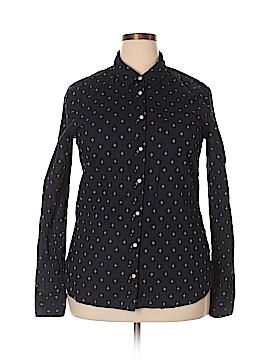 Stylus Long Sleeve Button-Down Shirt Size XL