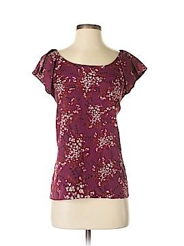 Ellen Tracy Short Sleeve Blouse Size XL