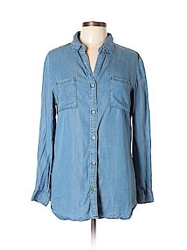 Thread & Supply Long Sleeve Button-Down Shirt Size L
