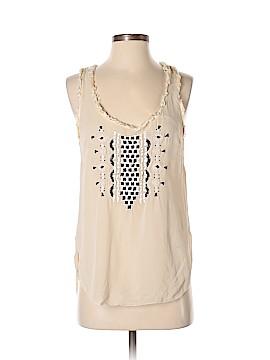 Floreat Sleeveless Silk Top Size 2