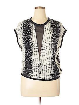 Robert Rodriguez Short Sleeve Silk Top Size 8