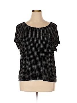 Briggs New York Short Sleeve Top Size 2X (Plus)