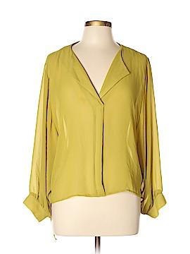 Audrey 3+1 Long Sleeve Blouse Size M