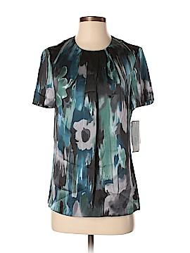 Anne Klein Short Sleeve Silk Top Size 6