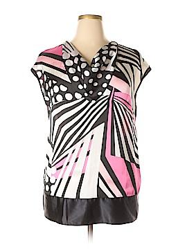 Basler Short Sleeve Blouse Size 42 (IT)