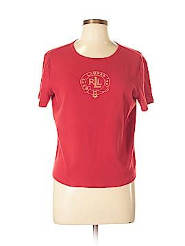 Lauren by Ralph Lauren Short Sleeve T-Shirt Size L