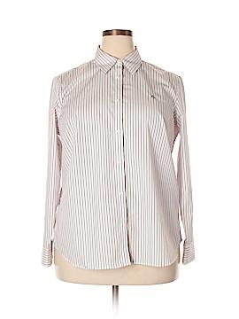 Lauren by Ralph Lauren Long Sleeve Button-Down Shirt Size 1X (Plus)