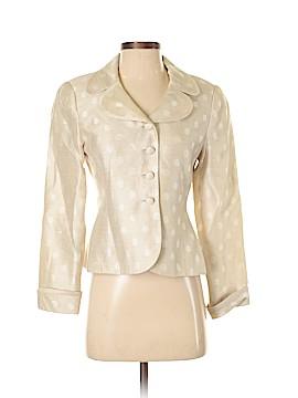Albert Nipon Silk Blazer Size S (Petite)