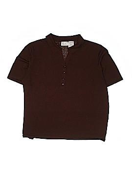 Kathie Lee Short Sleeve Button-Down Shirt Size 26 (Plus)