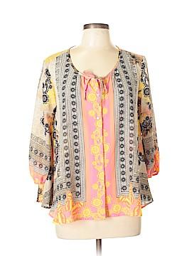 Style&Co 3/4 Sleeve Blouse Size L (Petite)