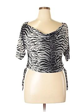 Isabella Rodriguez Short Sleeve Blouse Size L