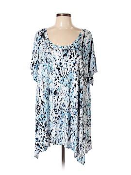 Cynthia Rowley for T.J. Maxx Short Sleeve Top Size 3X (Plus)