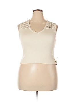RACHEL Rachel Roy Sweater Vest Size XXL
