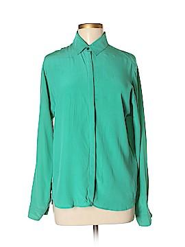 Weekend Max Mara Long Sleeve Silk Top Size 8