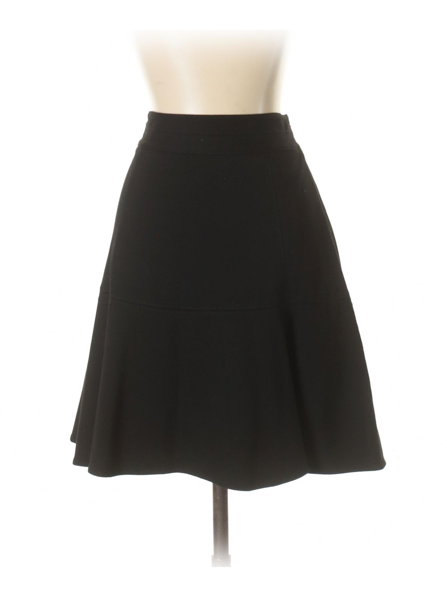 Black White House leisure Market Boutique Casual Skirt tqzCwt