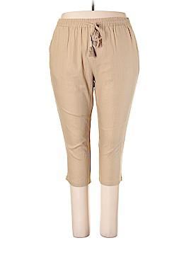 Roaman's Linen Pants Size 20 (Plus)