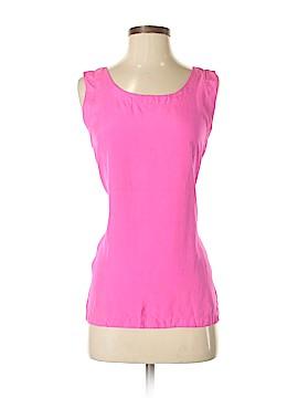 Adrienne Vittadini Sleeveless Silk Top Size S