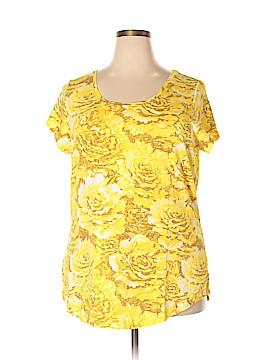 Isaac Mizrahi Short Sleeve T-Shirt Size 1X (Plus)
