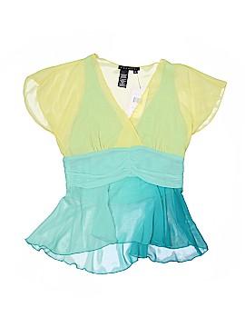 Parallel Short Sleeve Blouse Size 6
