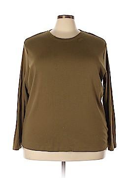 Northcrest Long Sleeve T-Shirt Size 3X (Plus)