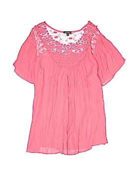 Hannah Short Sleeve Blouse Size XL