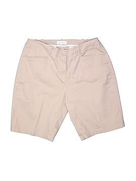 Talbots Outlet Khaki Shorts Size 16