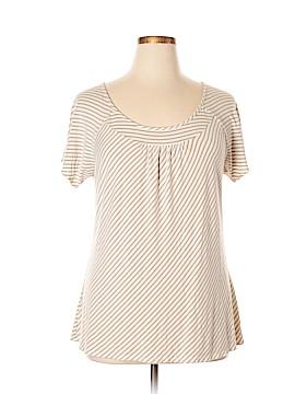 Emma James Short Sleeve Top Size 1X (Plus)