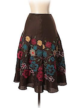 Johnny Was Silk Skirt Size 6