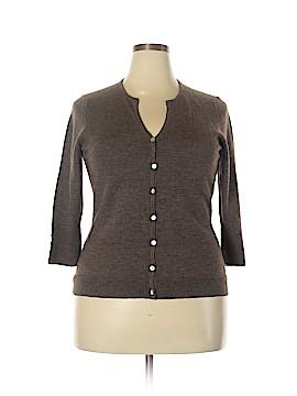 Susan Bristol Wool Cardigan Size 1X (Plus)