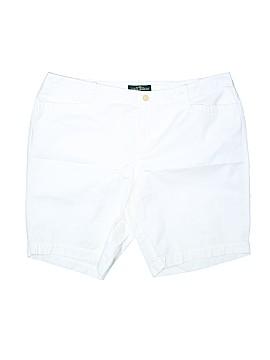 L-RL Lauren Active Ralph Lauren Denim Shorts Size 16