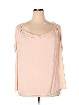 Elle Short Sleeve Top Size 2X (Plus)