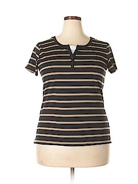 Carolyn Taylor Short Sleeve Henley Size XL