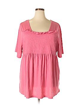 Ellos Short Sleeve Blouse Size 2X (Plus)