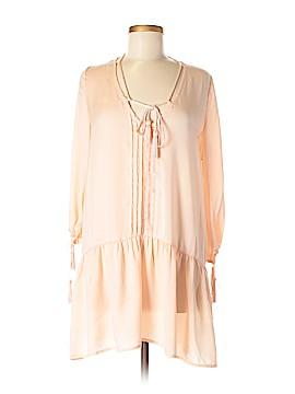 Ecru 3/4 Sleeve Blouse Size M