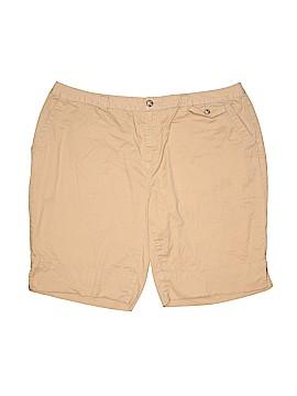 A.n.a. A New Approach Khaki Shorts Size 20 (Plus)