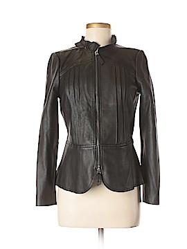 Rebecca Taylor Leather Jacket Size 6