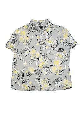 Erika Short Sleeve Button-Down Shirt Size XL