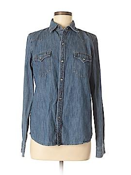 Lauren Jeans Co. Long Sleeve Button-Down Shirt Size 8