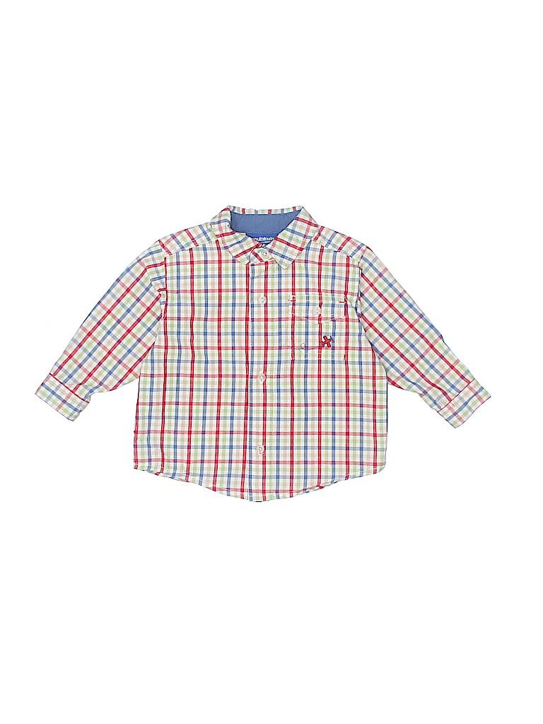 Genuine Kids from Oshkosh Boys Long Sleeve Button-Down Shirt Size 9 mo