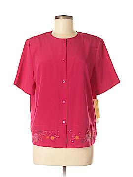 Koret Short Sleeve Blouse Size M