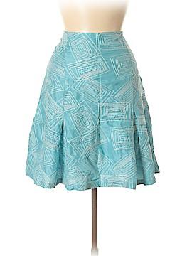 White + Warren Silk Skirt Size 8