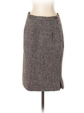 Valentino Miss V Wool Skirt Size 40 (IT)