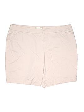 SONOMA life + style Khaki Shorts Size 24 (Plus)