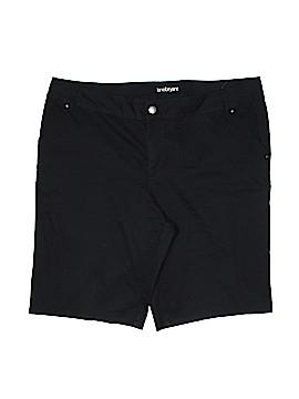 Lane Bryant Khaki Shorts Size 22 (Plus)