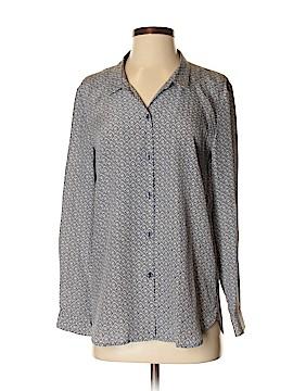 The Kooples Long Sleeve Silk Top Size M