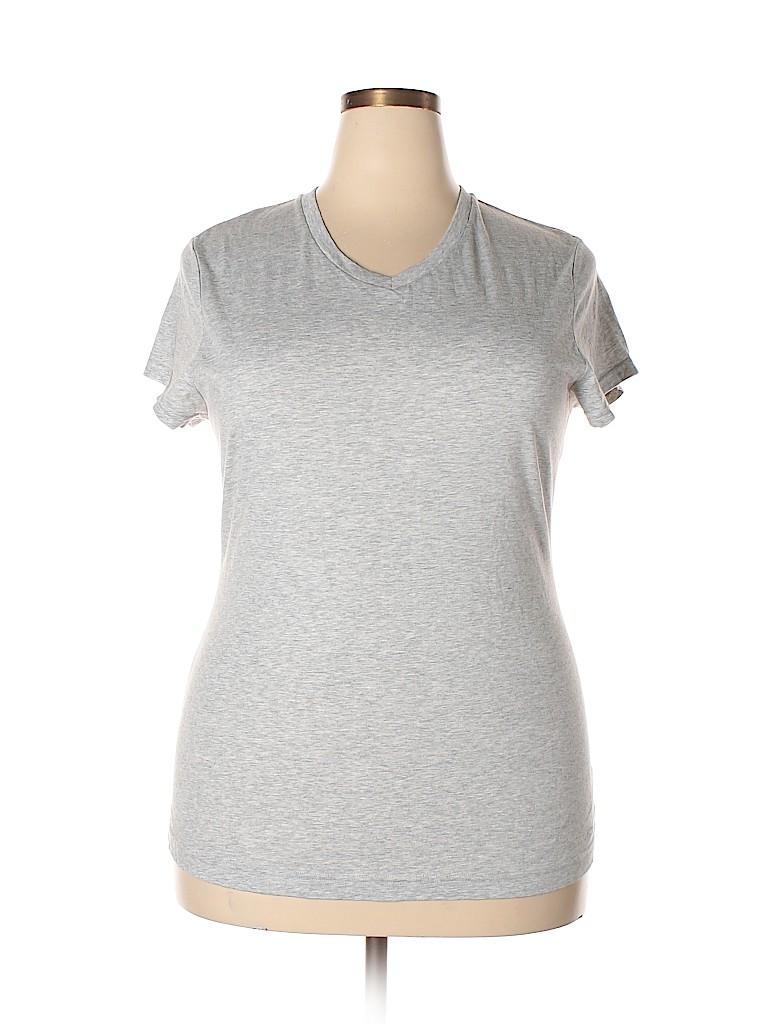Champion Women Short Sleeve T-Shirt Size XXL