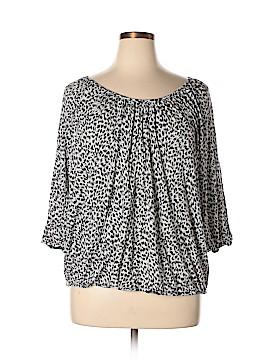 MICHAEL Michael Kors 3/4 Sleeve Top Size 3X (Plus)