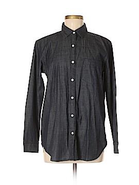 Grana Long Sleeve Button-Down Shirt Size M