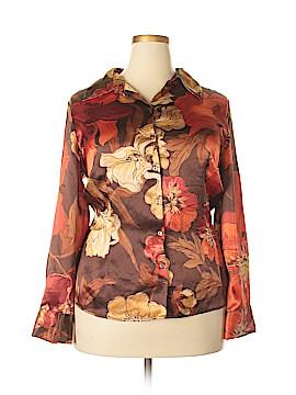Covington Outlet Long Sleeve Blouse Size 18 (Plus)